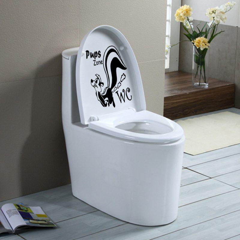 Message à mettre dans les toilettes