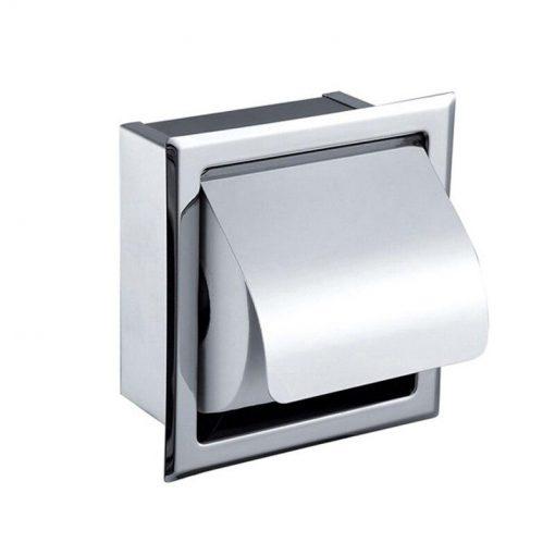 Support Papier Toilette Encastrable