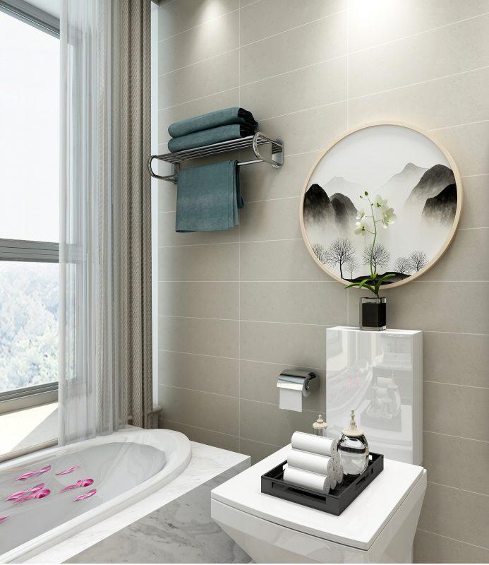Décoration toilettes
